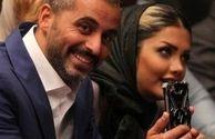 علیرام نورایی و همسرش+عکس