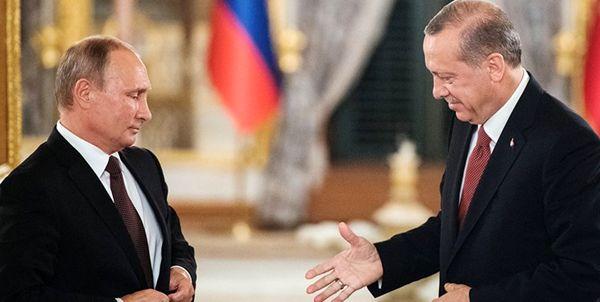 اعلام آمادگی اردوغان برای دیدار با پوتین