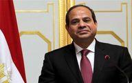 پیام السیسی برای شاه سعودی