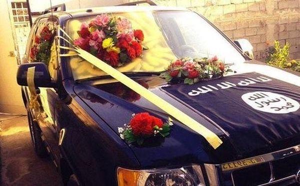 ماشین عروس داعش!+تصاویر