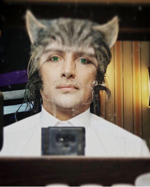 گریم گربه طوری امین زندگانی + عکس