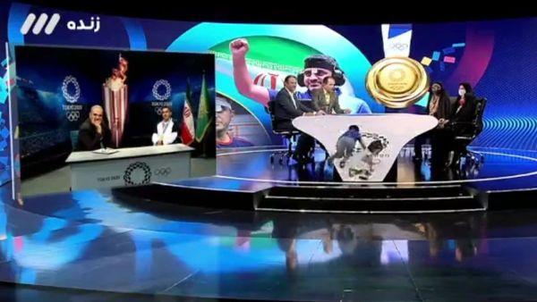 حضور خانواده جواد فروغی در تلویزیون + عکس