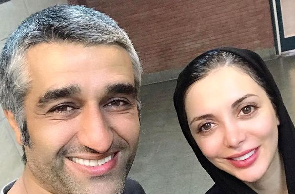 رویامیرعلمی در جلد مادر در کنار بازیکن هنرمند ایران+عکس