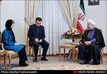 افزایش محبوبیت اشتون در ایران