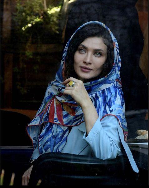 ساناز سعیدی با ظاهری شیک + عکس