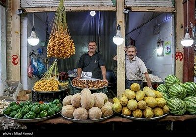 یک بازار قدیمی ببینید + عکس