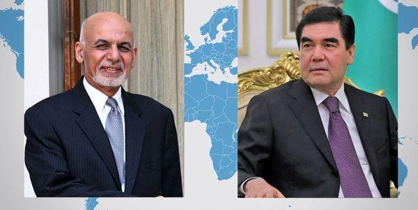 رایزنی روسای جمهور افغانستان و ترکمنستان