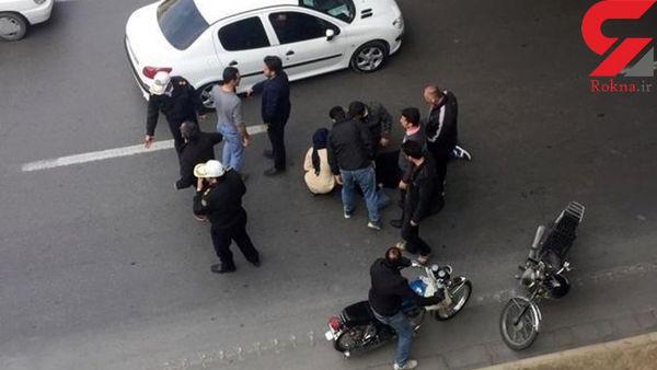 سقوط دختر جوان از پلی نزدیک به میدان سهروردی