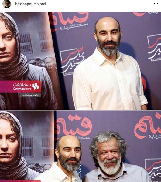 عکس از سفر محسن تنبابنده و حسن پورشیرازی به مشهد