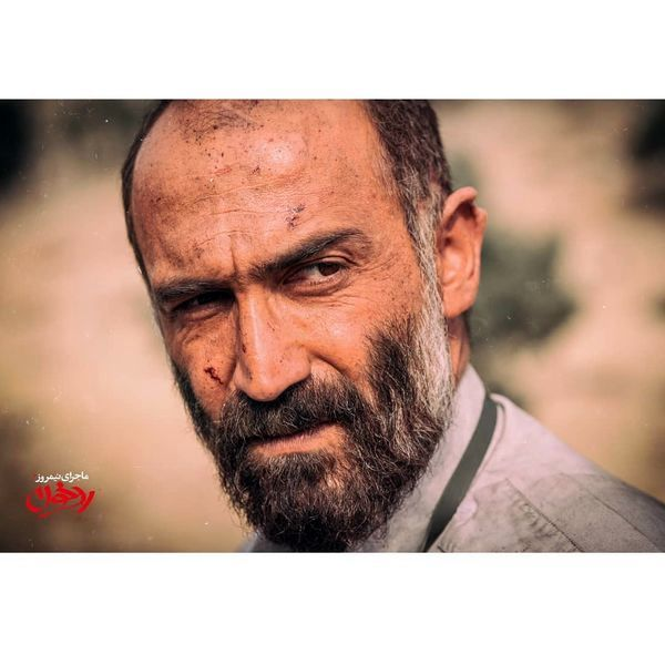 چهره رد خونی هادی حجازی فر + عکس