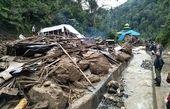 21 کشته بر اثر وقوع سیلاب و رانش زمین در اندونزی