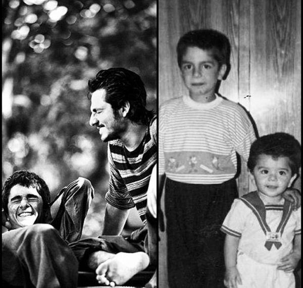 برادران غزالی در کودکی + عکس
