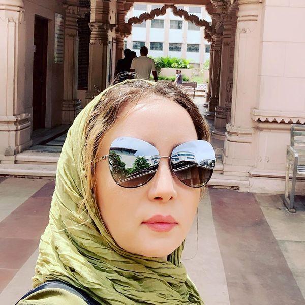 حدیث فولادوند در حال بهتر کردن دنیا از هند+عکس