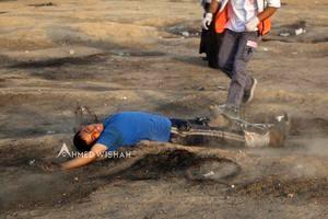 ۵۵ زخمی در تظاهرات بازگشت امروز غزه