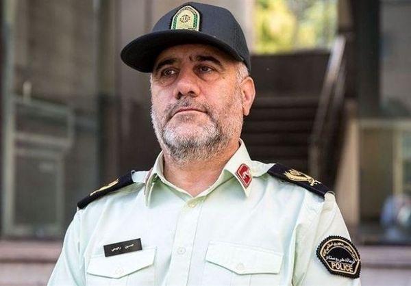 توضیحات رئیس پلیس تهران درباره سامانه مرکز هشدار الکترونیک