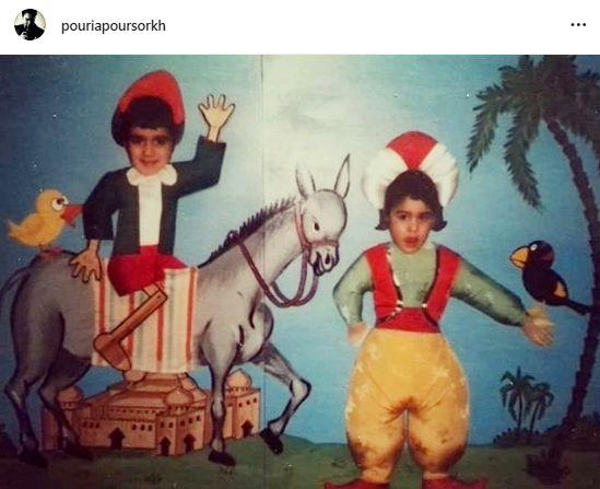 شیطنت های سیاوش خیرابی و برادرش در کودکی + عکس