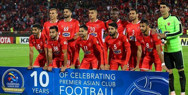 اعضای تیم فوتبال پرسپولیس در دبی مستقر شدند