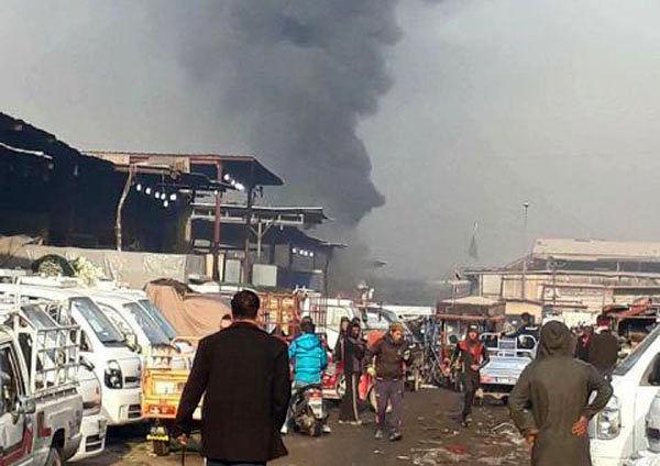 انفجار انتحاری در شمال بغداد