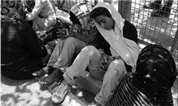 آغاز جمعآوری زنان کارتنخواب تهران