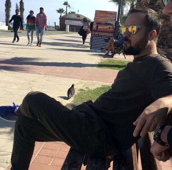احمد مهرانفر در خارج از کشور + عکس