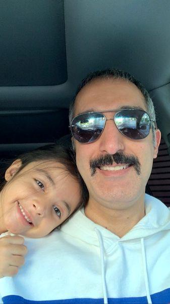 سلفی جدید ژوله با دخترش + عکس