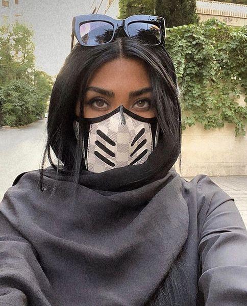 ماسک خاص مریم معصومی + عکس