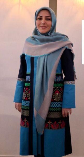 ظاهر متفاوت خانم اخبار گوی معروف + عکس