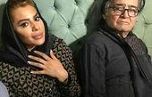 عکس رضا رویگری در کنار همسر بازیگرش