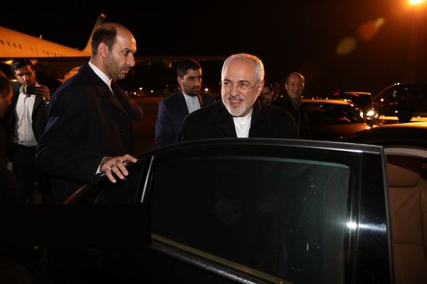 محمدجواد ظریف وارد بروکسل شد