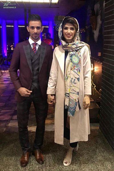 کاپیتانهای تیم فوتبال سپاهان با هم ازدواج کردند