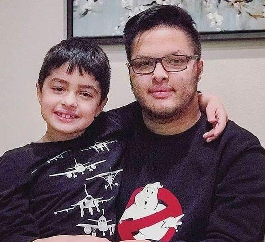 عکس فرزندان رشید شهاب حسینی