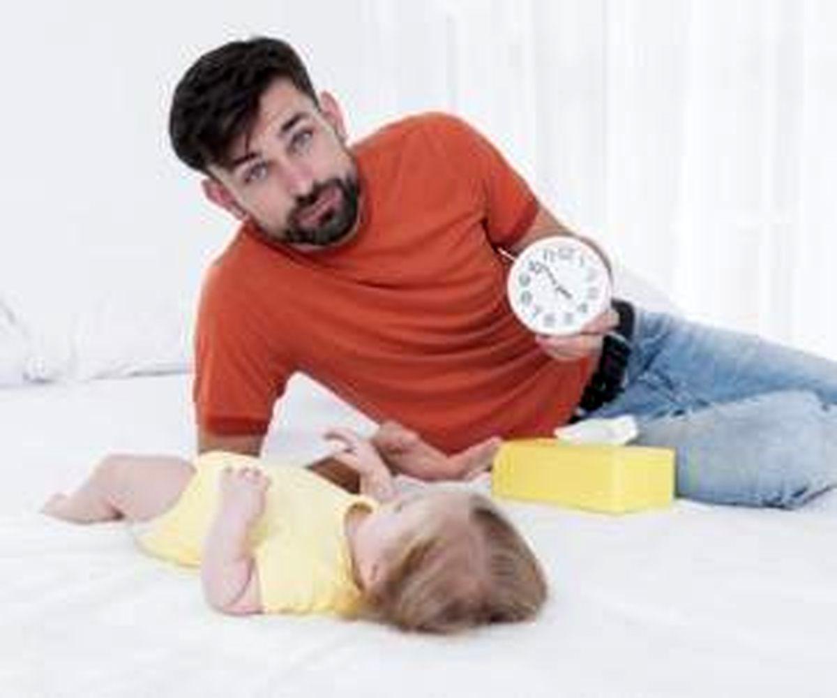 چگونه خواب کودک را منظم کنیم ؟