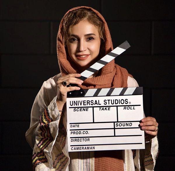 ژست کارگردانی شبنم قلی خانی + عکس
