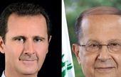 پیام بشار اسد به میشل عون