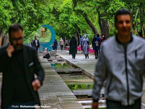 روزهای شلوغ چهارباغ اصفهان در ایام فاصله گذاری هوشمند! + تصاویر