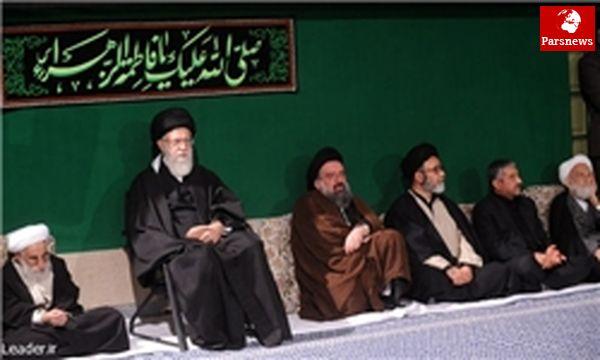 برگزاری مراسم شهادت حضرت زهرا (س) با حضور رهبر معظم انقلاب