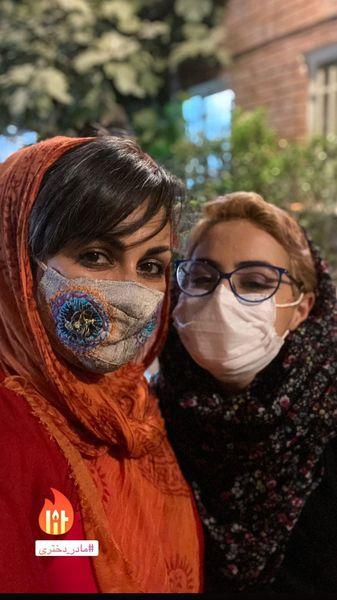 شیوا ابراهیمی و دخترش + عکس
