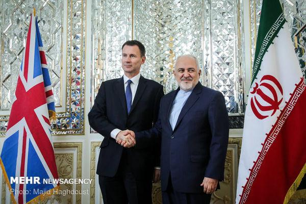 روایت سفارت انگلیس در تهران از اهداف دیدار «هانت» با ظریف