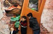 شیطنت بچه های وزیر ارتباطات در پارک ژوراسیک+عکس