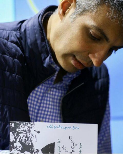 کتاب خوانی عادل فردوسی پور + عکس