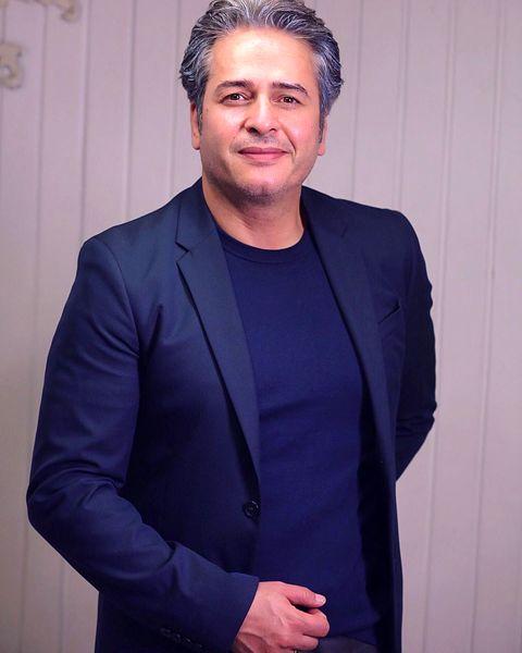 تشکر امیر تاجیک برای مراسم جشن تولدش+عکس