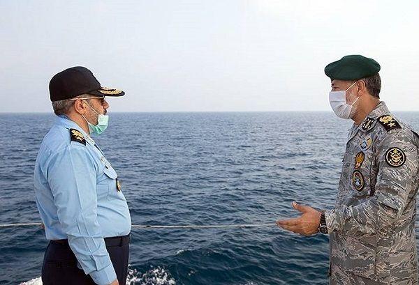 رژه دریایی رزمایش ذوالفقار ۹۹ ارتش
