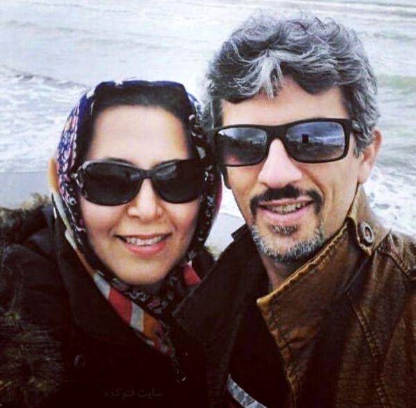 سیروس همتی و همسرش + عکس