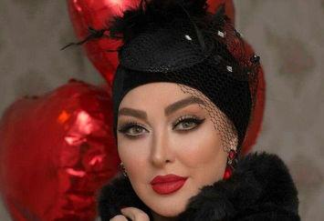 اولین عکس شب ولنتاینی خانم بازیگر بعد از عروس شدن