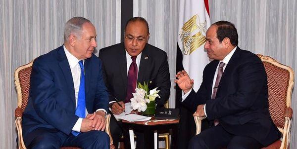 علت لغو سفر نتانیاهو به قاهره