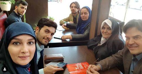 گشت و گذار خانم مجری با همسر و خانواده + عکس