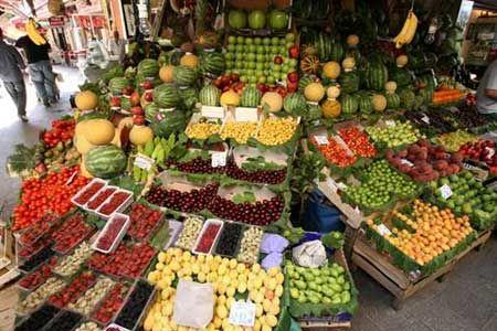 دلایل افزایش قیمت میوه در بازار