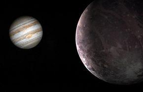 کشف شواهد وجود بخار آب در بزرگترین قمر مشتری