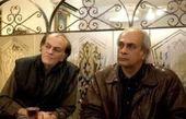 بهمن دان و فتحعلی اویسی در رستوران + عکس
