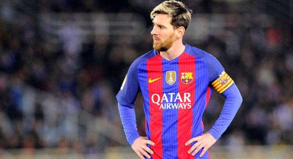 مسی مانع از شکست بارسلونا شد